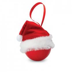 Bola navideña con gorro de Pap