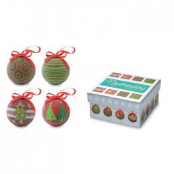 Set bolas navideñas