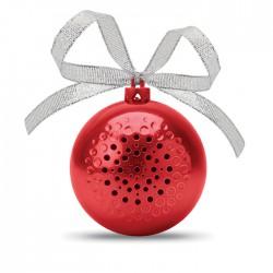 Altavoz bola de Navidad