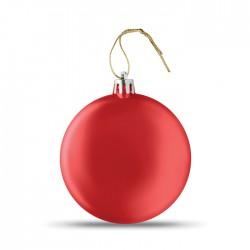 Bola de Navidad plana