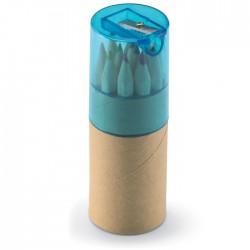 12 lápices de colores