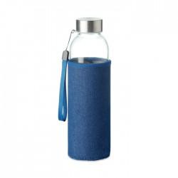 Botella cristal con funda 500ml