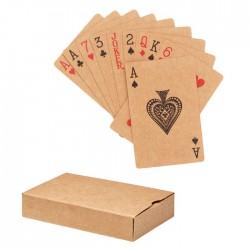 Baraja cartas papel reciclado