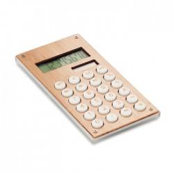 Calculadora bambú de 8 dígitos