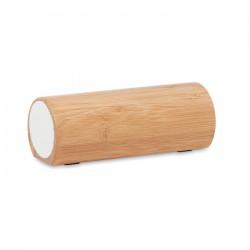 Altavoz bambú inalámbrico 2x5W