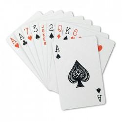 Juego de cartas en caja