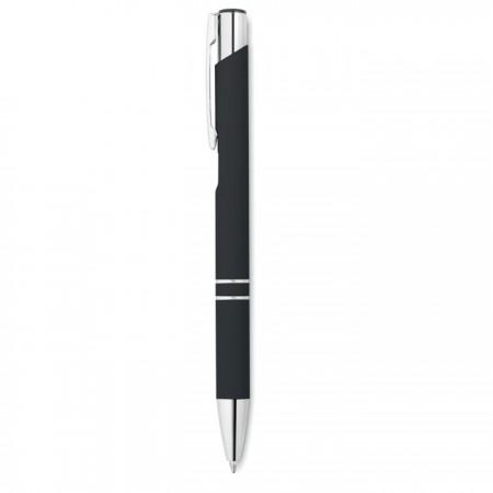Bolígrafo con acabado caucho