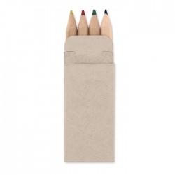 4 lápices de colores