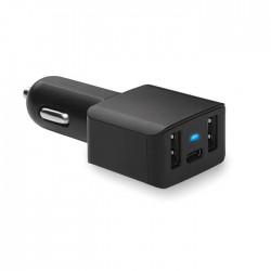 Cargador de coche USB y tipo-C