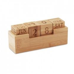 Calendario de bambú