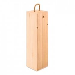 Caja de vino de madera