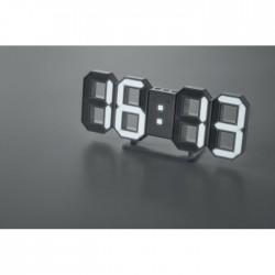 Reloj LED con adaptador AC