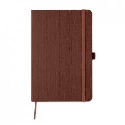 Libreta A5 de PU diseño madera