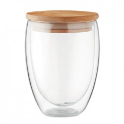 Vaso cristal doble capa 350 ml