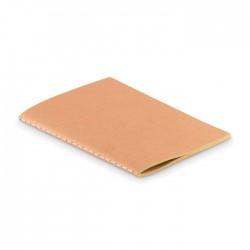 Libreta A6 con tapa de papel