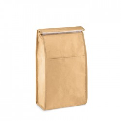 Porta bocadillos de papel woven