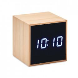 Reloj despertador y temperatura