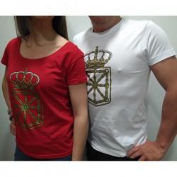 Camiseta escudo de navarra