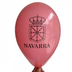 Pack 25 globos escudo de Navarra