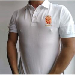 Polo Bordado escudo de Navarra